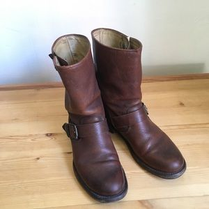 Frye Jenna Engineer Boot Size 7